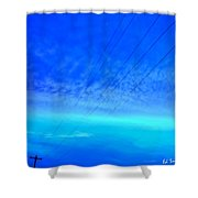 Not A Sound Shower Curtain