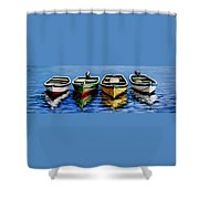 Not Alone Shower Curtain