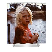 Not An Orphan Shower Curtain