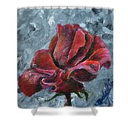 Not Every Rose Is Perfect Shower Curtain