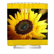 Peaceful Vision Shower Curtain
