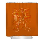 Not Heavy Shower Curtain