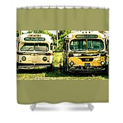 Not In Service Shower Curtain