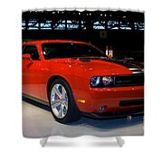 Not Just Another Challenger Shower Curtain