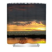Not Just Another Sunrise Shower Curtain