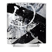 Not Just Black And White2 Shower Curtain