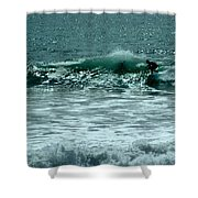 Not Now, Wave Shower Curtain