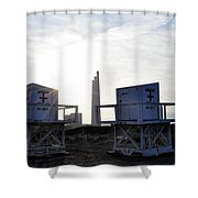 Not On Duty Shower Curtain
