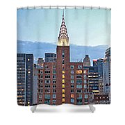 Not The Chrysler Building Nyc Shower Curtain