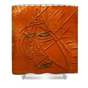 Not Today - Tile Shower Curtain