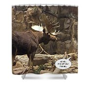 Not You Shower Curtain