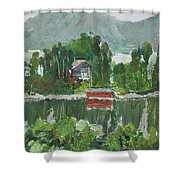 Nothagen Island Scenery Shower Curtain