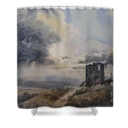 Nothern Storm Shower Curtain