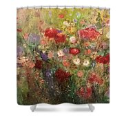 Nothing But Flowers Shower Curtain