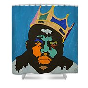 Notorious B I G Shower Curtain