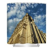 Notre Dame Angles In Color - Paris, France Shower Curtain