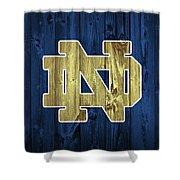 Notre Dame Barn Door Shower Curtain