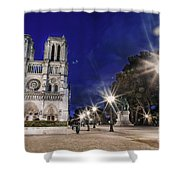 Notre Dame Cathedral Paris 2 Shower Curtain
