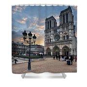 Notre Dame Cathedral Paris 2.0 Shower Curtain
