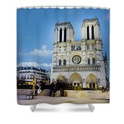 Notre Dame Cathedral Paris 3 Shower Curtain