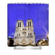 Notre Dame Cathedral Paris Shower Curtain
