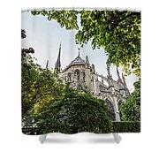Notre Dame Cathedral - Paris, France Shower Curtain