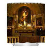 Notre-dame-de-bon-secours Chapel Shower Curtain