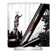 Notre Dame De Bon Secours-vieux Port Shower Curtain