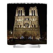 Notre Dame De Paris Shower Curtain