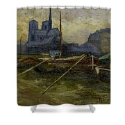 Notre-dame De Paris Shower Curtain