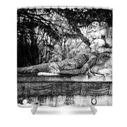 Notre-dame-des-neiges Cemetery Shower Curtain