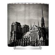 Notre Dame II Shower Curtain