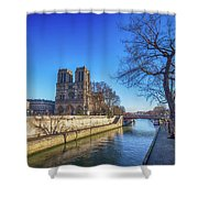 Notre Dame Of Paris  Shower Curtain
