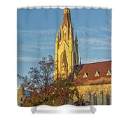 Notre Dame University Basilica Of The Sacred Heart Shower Curtain