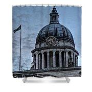 Nottingham England United Kingdom Uk Shower Curtain