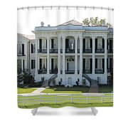 Nottoway Plantation Shower Curtain