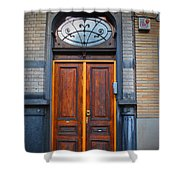 Nouveau Door Shower Curtain