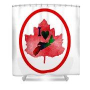 Nova Scotia Proud Shower Curtain