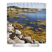 Nova Scotia Seascape Shower Curtain