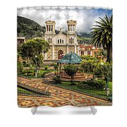 November 13 Park Shower Curtain