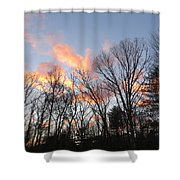 November At Twilight Shower Curtain