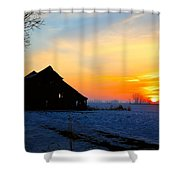 November Barn 2 Shower Curtain