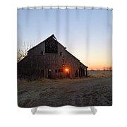 November Barn Shower Curtain