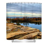 November Colors Shower Curtain