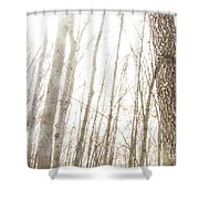 November Comes Shower Curtain