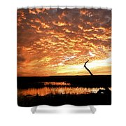 November Evening Shower Curtain