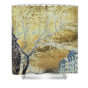 November In The Heights Shower Curtain
