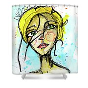 November Jane Shower Curtain