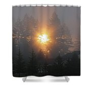 November Sunrise 2 Shower Curtain