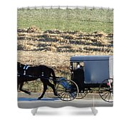 November Visiting Day Shower Curtain